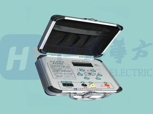 它使用于测量各种绝缘材料的电阻值及变压器